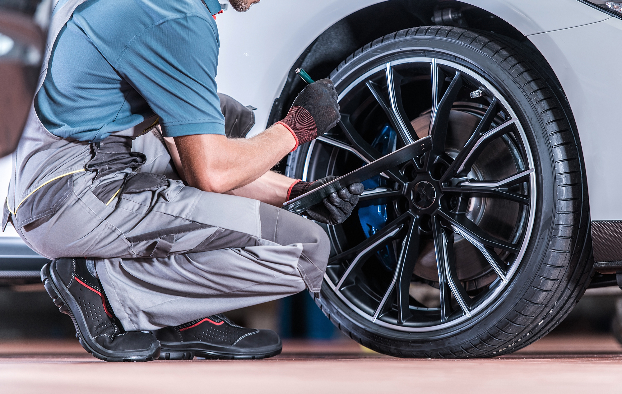 Tires and Wheels Inspection
